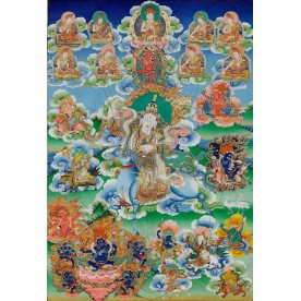 Thangka Achi Chokyi Drolma flawless high quality printing