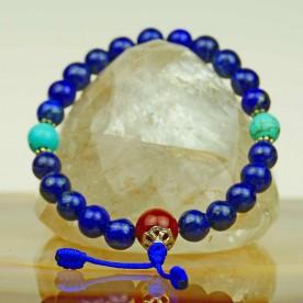 Beautiful lapis lazuli bracelet