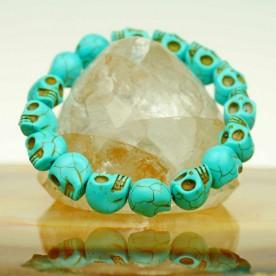 Bracelet Cool Skull Head Jewelry Skull Marble Designs