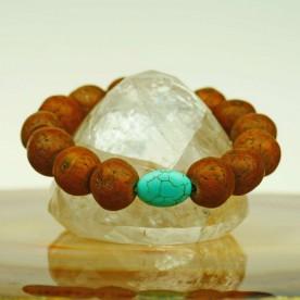 Schönes Armband mit Bodhi Baum Samen