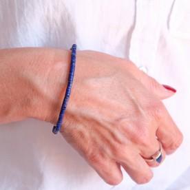Edelstein Armband Lapislazuli