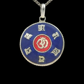 Finely crafted Tibetan Gau made of 925 sterling silver