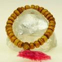 Nice, simple bracelet of light brown colored bone