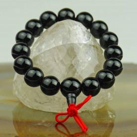 Armband aus schwarzem Onyx