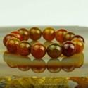 Schönes Armband aus Moosachat