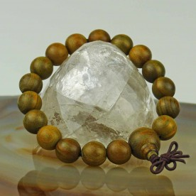 Ball bracelet with genuine sandalwood beads