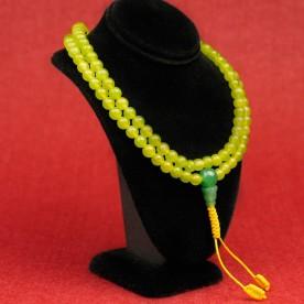 Mala Grün Meditation Guru Stupa Buddhismus Kette Halskette Schützer